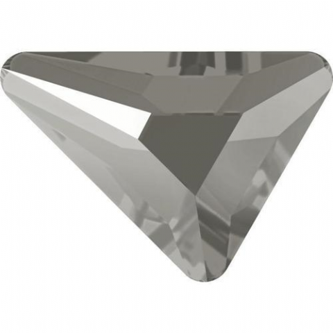 2739 Triangle Beta Crystals, Flatback, No-Hotfix, Dark Grey